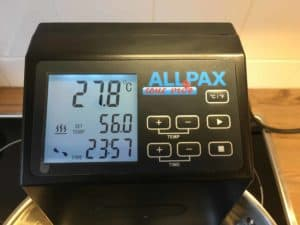allpax sous vide display