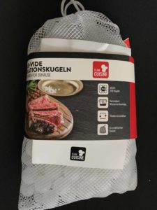 Sous-vide Isolationskugeln